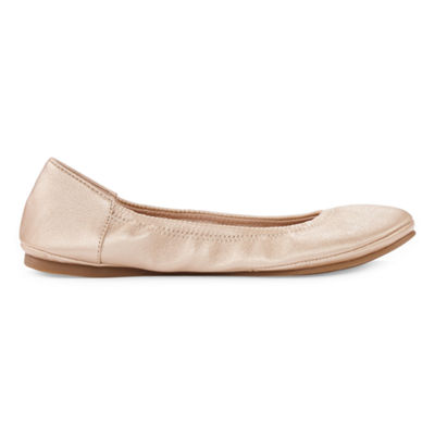 a.n.a Joy Womens Slip-on Round Toe Ballet Flats