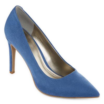 Worthington Womens Zoe Pumps Slip-on Closed Toe Stiletto Heel