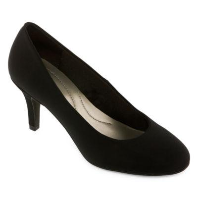 east 5th Womens Carolyn Pumps Slip-on Round Toe Stiletto Heel