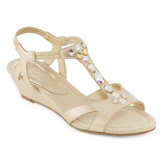 east 5th Womens Anchor Wedge Sandals