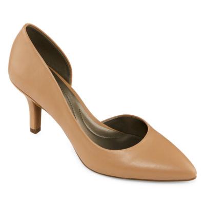 east 5th Womens Devan Slip-on Closed Toe Stiletto Heel  Pumps