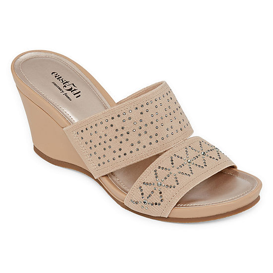 east 5th Womens Vane Wedge Sandals