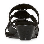 New York Transit Womens Aced The Moment Wedge Sandals
