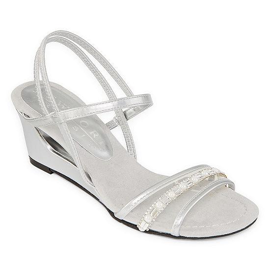 New York Transit Womens Festivity Wedge Sandals