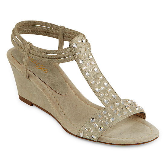 east 5th Womens Finley Wedge Sandals