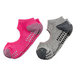Copper Fit 2 Pair No Show Socks- Womens