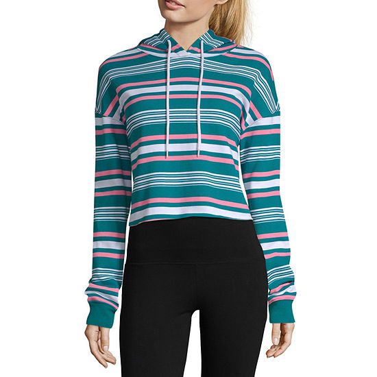 Flirtitude Womens Long Sleeve Fleece Hoodie Juniors