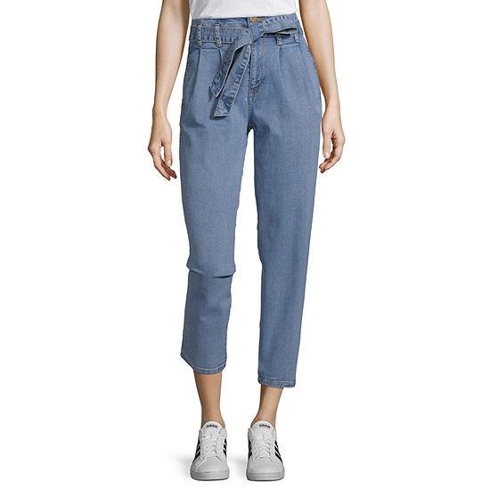 Arizona Womens Straight Leg Jean - Juniors
