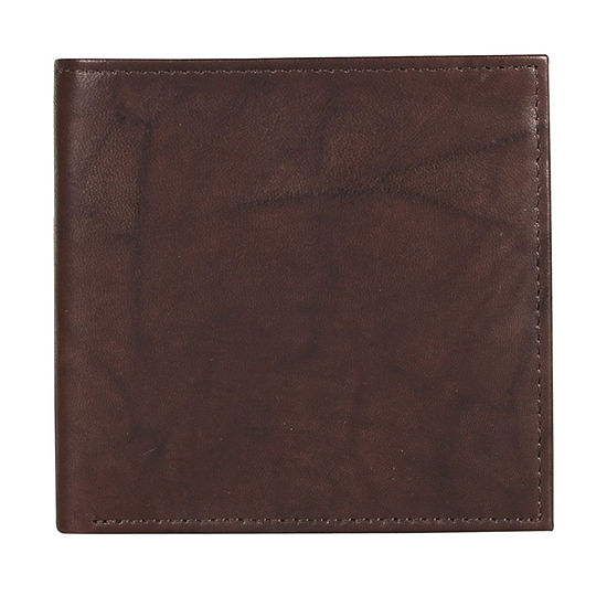 Brown Leather Buxton Cardex Hipster Credit Card Wallet New in Box