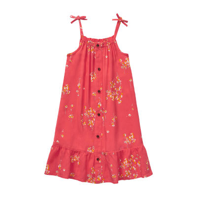 Peyton & Parker Toddler Girls Sleeveless Shift Dress
