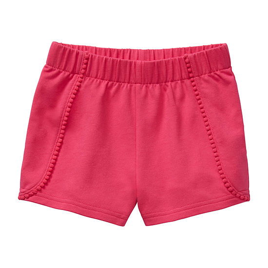Okie Dokie Little Kid Girls Pull-On Short