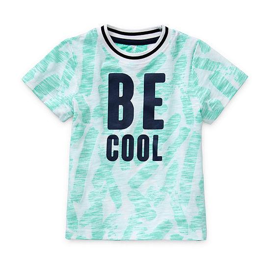 Okie Dokie - Little Kid Boys Crew Neck Short Sleeve Graphic T-Shirt