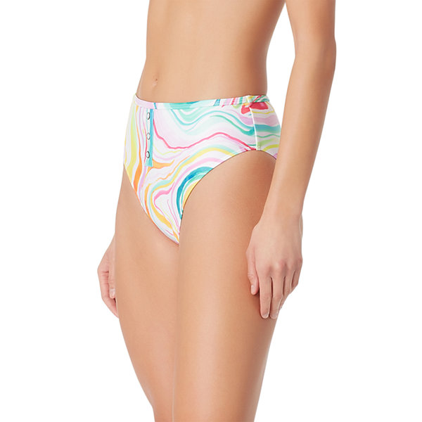 Sugar Beach Tie Dye High Waist Swimsuit Bottom