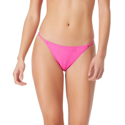 Sugar Beach Textured Hipster Bikini Swimsuit Bottom