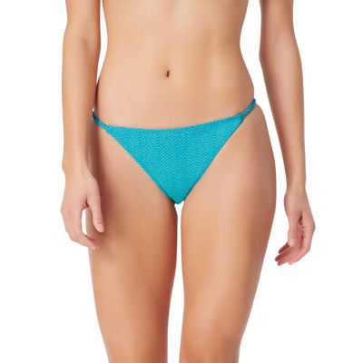 Sugar Beach Textured Hipster Swimsuit Bottom