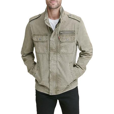 Levi's Lightweight Field Jacket, Small , Green
