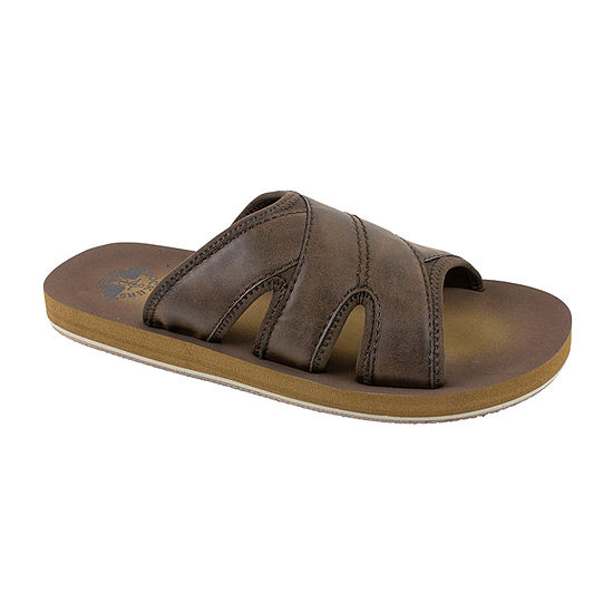 Dockers® Cross Band Slide Sandals