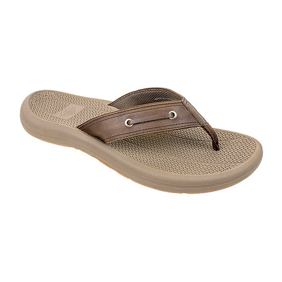 St. John's Bay Mens Boater Flip-Flops