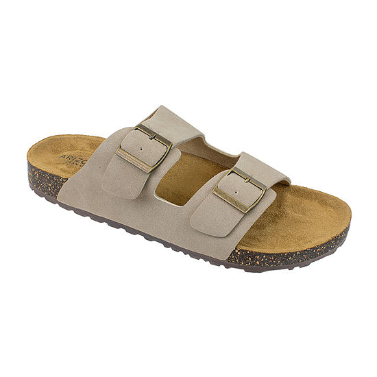 Arizona® Double Buckle Footbed Sandals