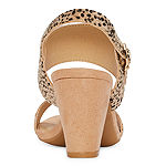 CL by Laundry Womens Shaye Heeled Sandals