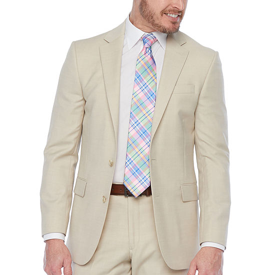 Stafford-Super Slim Fit Stretch Suit Jacket