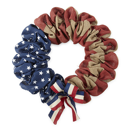 JCPenney Home American Burlap Wreath