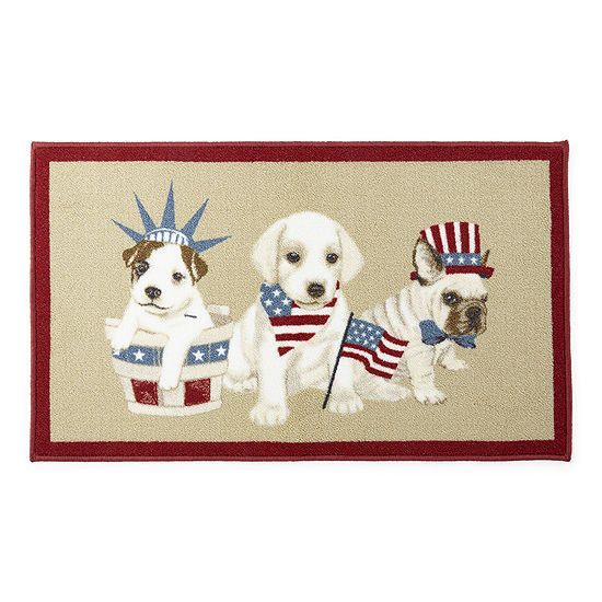 JCPenney Home Dogs Rectangular Indoor Rugs