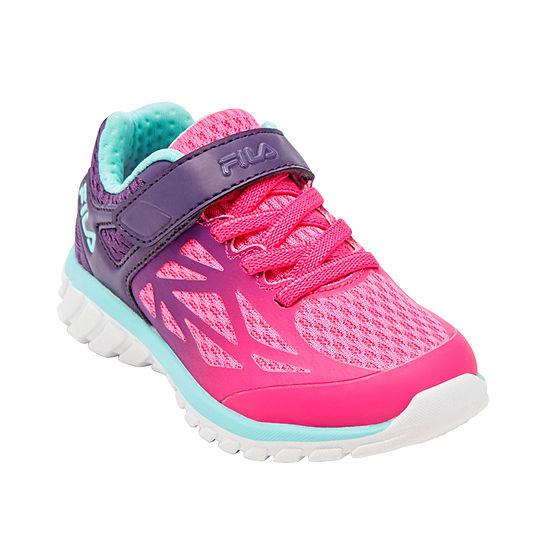 Fila Speedstride 20 Strap Toddler Girls Running Shoes