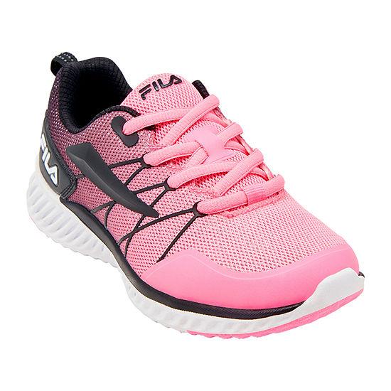 Fila Geo-Trainer Little Kids Girls Running Shoes