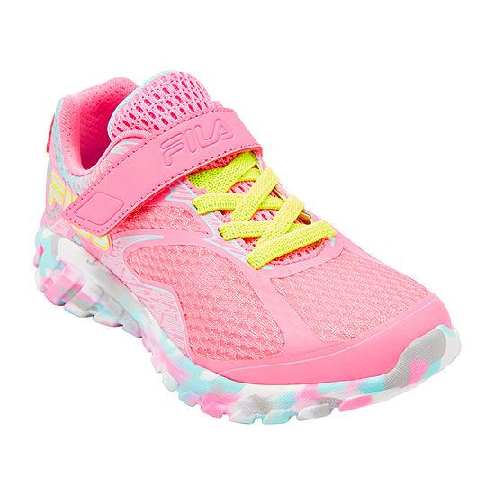 Fila Primeforce 4 Strap Girls Running Shoes