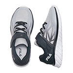 Fila Speedstride Strap Little Kids Boys Running Shoes