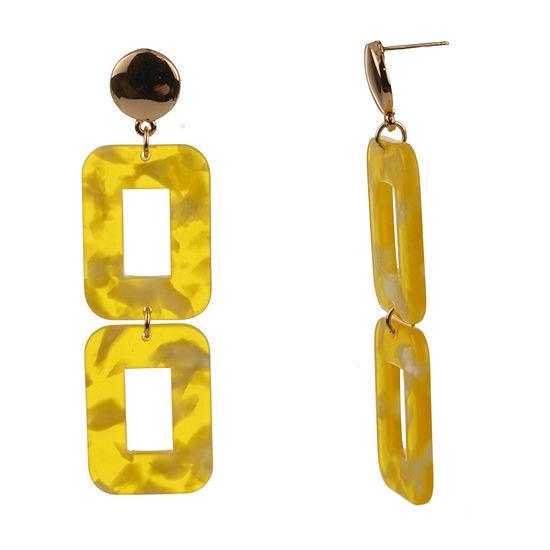 Bijoux Bar Resin Drop Earrings