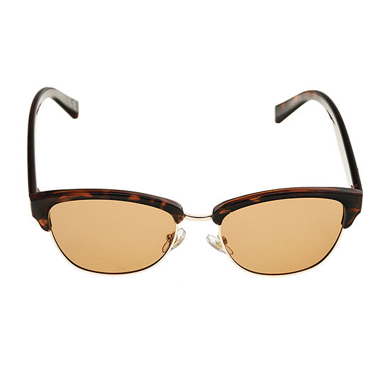 Foster Grant Clubmaster Polarized Womens Sunglasses