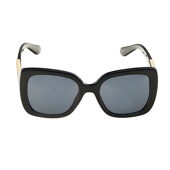 Worthington Square With Leopard Temples Womens Sunglasses