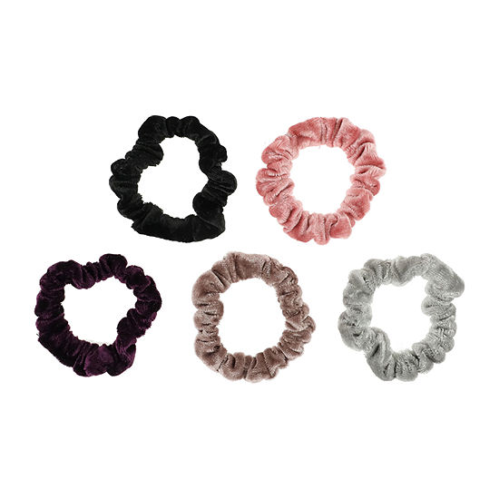 Mixit Velvet Scrunchie 5-pc. Hair Ties