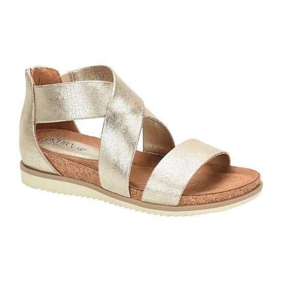 Eurosoft Landry Ii Womens Criss Cross Strap Footbed Sandals