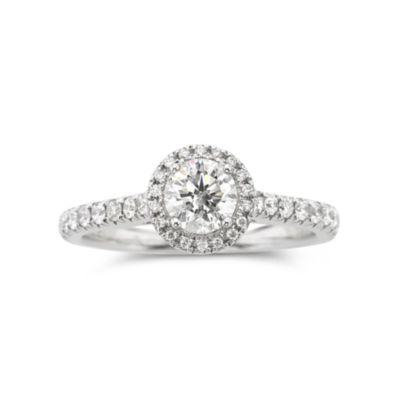 True Love, Celebrate Romance® 1 CT. T.W. Certified Diamond Engagement Ring
