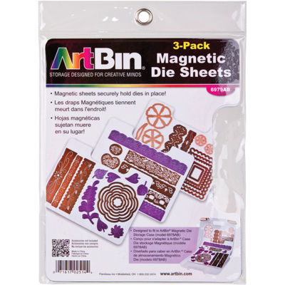 ArtBin® Magnetic Sheets—3/Pkg