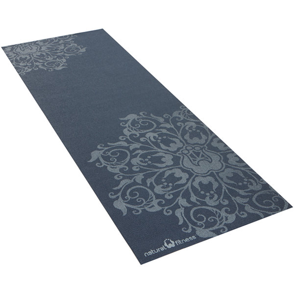"Natural Fitness Eco-Smart Yoga Mat-  24"" x 69"" x 4mm"