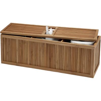Creative Bath™ Eco Bamboo Style 3-in-1 Tank Topper