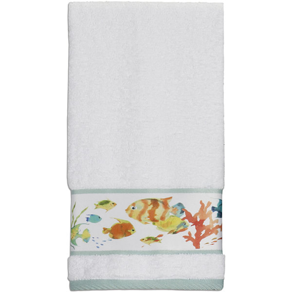 Creative Bath™ Rainbow Fish Bath Towels
