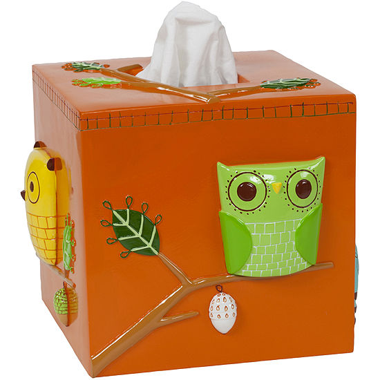 Creative Bath™ Give A Hoot Tissue Holder