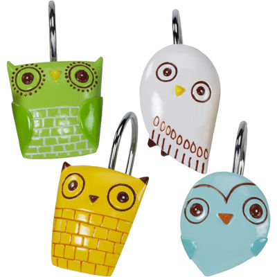 Creative Bath™ Give a Hoot Shower Curtain Hooks