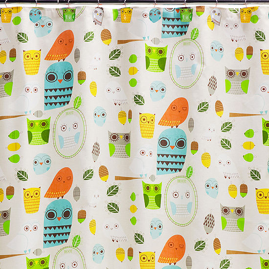 Creative Bath™ Give A Hoot Shower Curtain