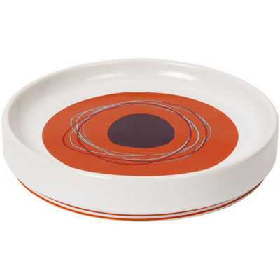 Creative Bath™ Dot Swirl Ceramic Soap Dish