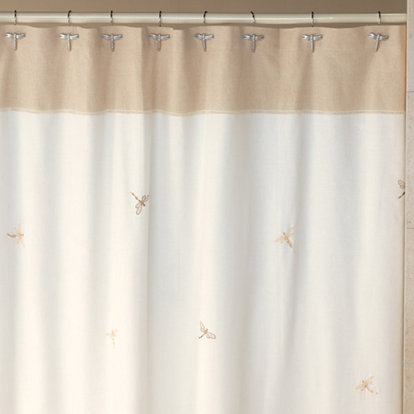 Creative Bath Dragonfly Shower Curtain