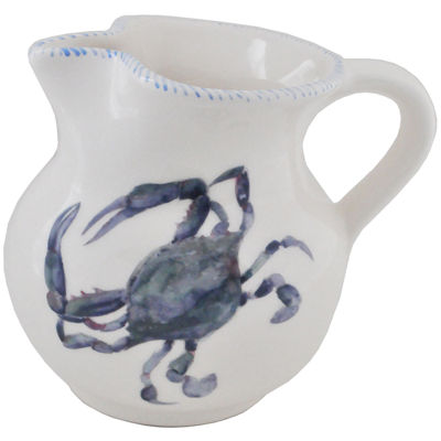 Abbiamo Tutto Blue Crab 68-oz. Ceramic Pitcher