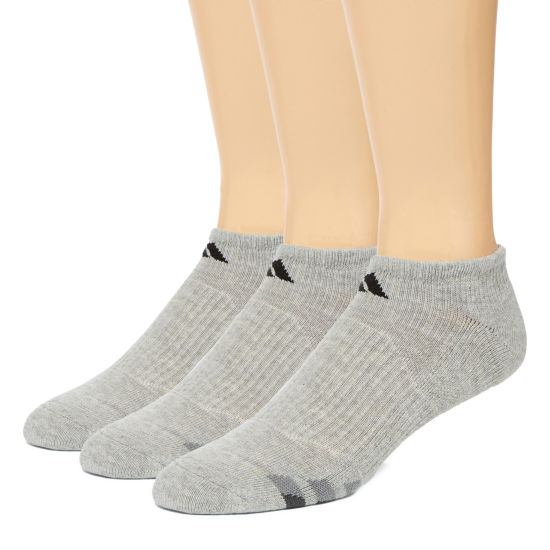 adidas® 3-pk. Athletic Cushioned No-Show Socks