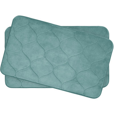 "Bounce Comfort Palace Memory Foam 17x24"" 2-pc. Bath Mat Set"