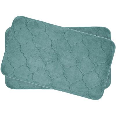 "Bounce Comfort Faymore Memory Foam 17x24"" 2-pc. Bath Mat Set"